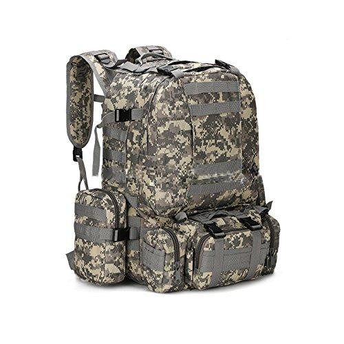 Espeedy Nuevo unisex 3D militar mochila táctica de mochila camping senderismo trekking bolsa exterior suministros #4