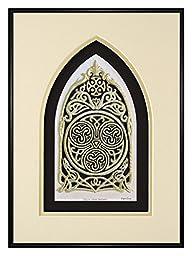 Celtic House Blessing - Cast Paper - Irish home blessing - Scottish - Celtic Knot Work - housewarming realtor closing gift - wall art