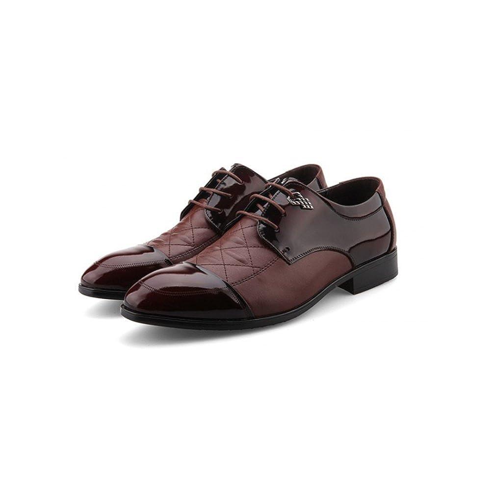 LYZGF Männer Gentleman Gentleman Gentleman Business Casual Handmade Fashion Lace Hochzeit Lederschuhe B07C7LRBZ7  522089