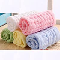 Treasure-house 5-Pack beb� Toallitas para beb� de color blanco toallas de ba�o