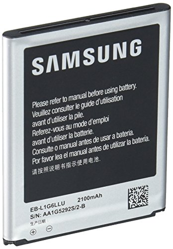 Samsung Galaxy S3 SIII Li-ion Spare Backup Battery Extended 2100mAh EB-L1G6LLU (Cell Phone Samsung S3 I9300)