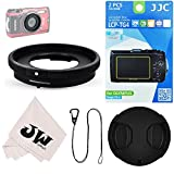 5in1 Accessories Kit for Camera Olympus Tough TG5 TG-5 TG-4 TG-3 : Lens Adapter Filter Adapter as CLA-T01 + 2Pcs Screen Protector + 40.5mm Lens Cap + Lens Cap Hook Keeper + Microfiber Cleaning Cloth