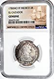 1780 MX 2 Reales MO FF El Cazador Shipwreck Coin,NGC Certified 2064293063 Real Fine