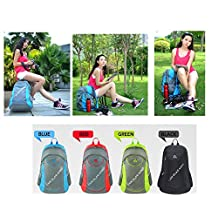 Folding Chair Back Pack Waterproof Backpack and Stool Chair Combo Gear for Hiking Fishing and Outdoor Activites