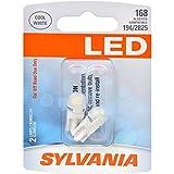 led 168 bulb - SYLVANIA 168 T10 W5W White LED Bulb, (Contains 2 Bulbs)