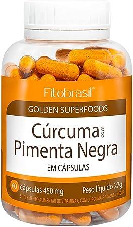 Cúrcuma Com Pimenta Preta - Suplemento Natural E Vitamínico Com Cúrcuma