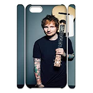 3D Yearinspace Ed Sheeran Guitar Cases For IPhone 5C Fashion, Case For Iphone 5c For Women Protective With White
