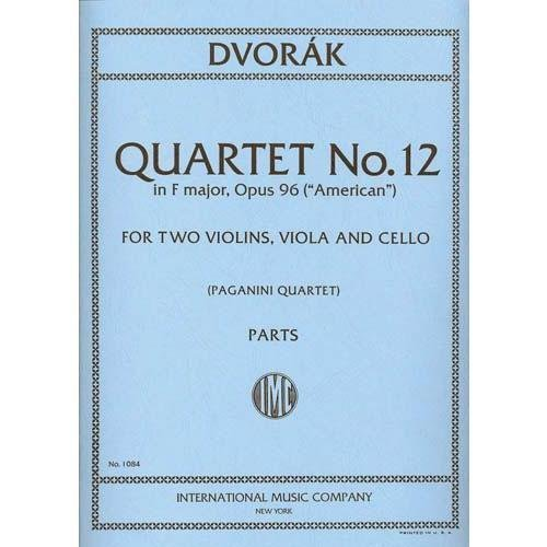 ng Quartet No.12 in F Major Op. 96 American Two Violins, Viola & Cello Paganini (Cello Quartet Music)