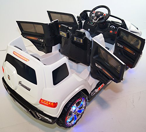 4 Door Car Style Battery Operated Ride On Car Toy With
