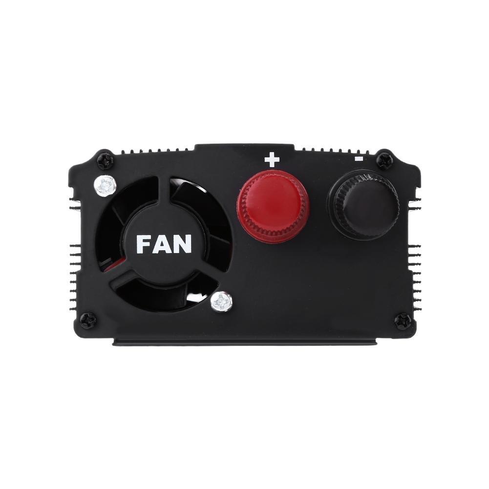 Gute W/ärmeableitung 2000W DC12V auf 220 V Auto Stromwandler Spannungswandler mit USB Anschl/üsse Auto-Wechselrichter Vollaluminiumschale