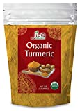 Jiva Organics Turmeric Powder 2 Pound Bag - Value Size!