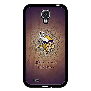 Samsung Galaxy S4 Case Anime NFL Minnesota Vikings Football Team Logo Sports Design Hard Slim Protection Accessories Case Cover for Men