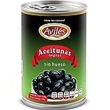 Aviles Aceituna Negra sin Hueso, 410 g