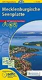 ADFC-Regionalkarte Mecklenburgische Seenplatte mit Tagestouren-Vorschlägen, 1:75.000, reiß- und wetterfest, GPS-Tracks Download (ADFC-Regionalkarte 1:75000)