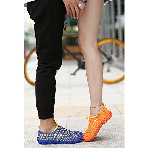 DULEE - Sandalias deportivas para mujer Azul