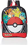 Pokemon Boys' Pocket 15 Inch Backpack with Lunch Kit