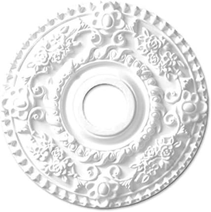 シャンデリア装飾メダリオン ゴールデンモール ポリウレタン製 NMG206