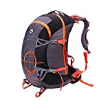 YAAGLE Unisex Nylon Oxford Anti-scratch Water Resistant 50L Outdoor Hiking Mountain Climbing Camping Skiing Backpack Explorer Sports Cycling Biking Rucksack Travel Bag With Rain Cover Red Green Grey