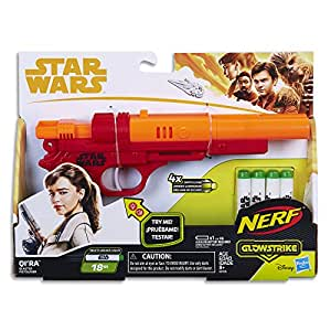 Star Wars Solo Qi Ra Nerf Elite Blaster with Glowstrike Technology