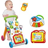 Multifuction Baby Walker,Sit-to-stand learning walker...