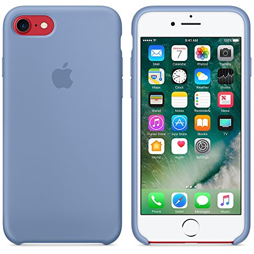 Apple Silicone Case for iPhone 7 - Azure by Apple (Image #5)