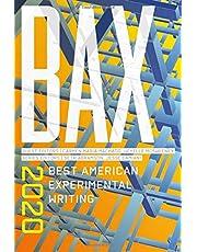 Bax 2020: Best American Experimental Writing