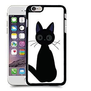 "meilz aiaiCase88 Designs Kiki's Cat Protective Snap-on Hard Back Case Cover for Apple iPhone 6 Plus 5.5""meilz aiai"