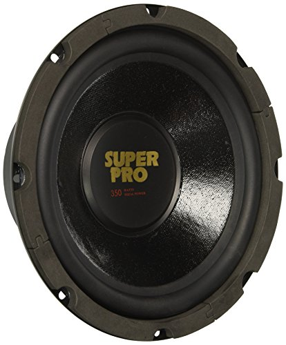 8 Inch Car Subwoofer Speaker – 350 Watt High Powered Car Audio Sound Component Speaker System w/ 1.5 Inch High-Temperature Kapton Voice Coil, 87.7 dB, 8 Ohm, 50 oz Magnet – Pyramid PW848USX