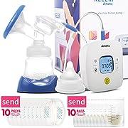 KELEKI Breastfeeding Pump Electric Comfort Single Breast Pump