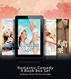 FUNNY ROMANCE: 4 Clean Books - Boxed Set (Best Romantic Comedy, Humorous Romance Book Series) (With Collection of Additional 30 Bonus Short Stories - Total >410k words)