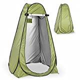 Instant Pop Up Green Privacy Tent with Carrying Bag & Built-In Storage Bag – Easy Set Up & Foldable – Side Window for Ventilation – Lightweight & Sturdy – Ideal for Forest, Beach, Park, Poolside