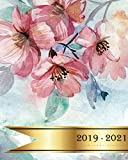 2019 - 2021 Three Year Planner: Spring Flowers