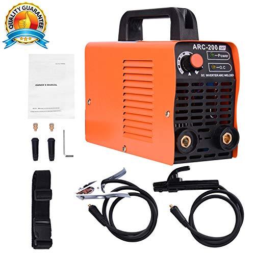 ARC Welding Machine, 110V,200 Amp Power,IGBT Smart Welder Fit For Welding Rod Equipment Tools Accessories