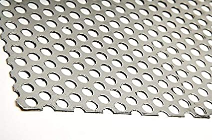 Chapa perforada acero inoxidable (espesor 1,5 mm) (Varias ...