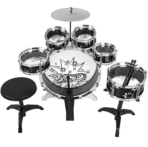 Drum Kids Set For Kids Toy With Cymbals Stands Throne Toy...