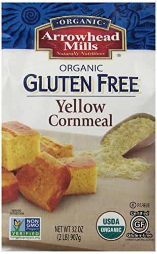 UPC 074333671329, Arrowhead Mills Organic Gluten Free Yellow Corn Meal, 2 Pound (Pack of 6)