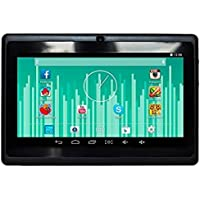 7 WiFi & Bluetooth Android 4.4.2 Tablet Quad Core CPU & Dual Camera & Keyboard - Black
