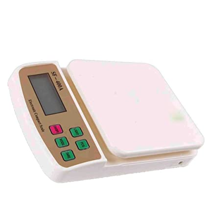 3183a7b9f Asraw Home   Personal Digital Weighing Machine 10 kg Digital weighing scale   Amazon.in  Home   Kitchen