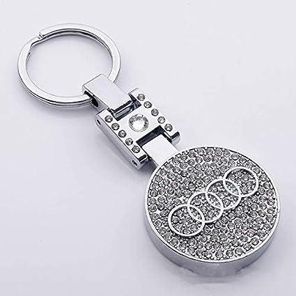 Car Metal Key Chains Key Ring 3D Smart Keyrings fit for Mini Smart
