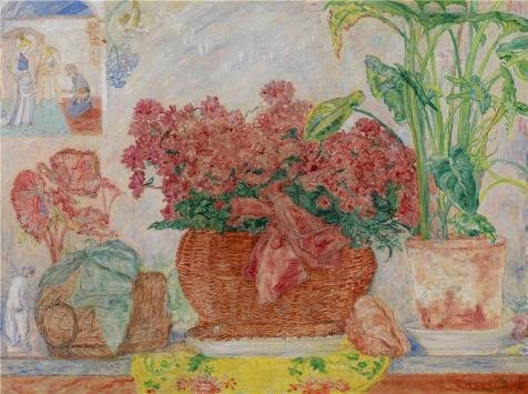 Oil Painting 'James Ensor - Azalea,1928-1930', 16 x 21 inch / 41 x 54 cm , on High Definition HD canvas prints is for Gifts And Bar, Foyer And Gym Decoration, factory