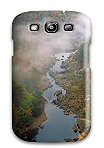 Tpu Case Cover For Galaxy S3 Strong Protect Case - Scenic Design 3354538K24944591
