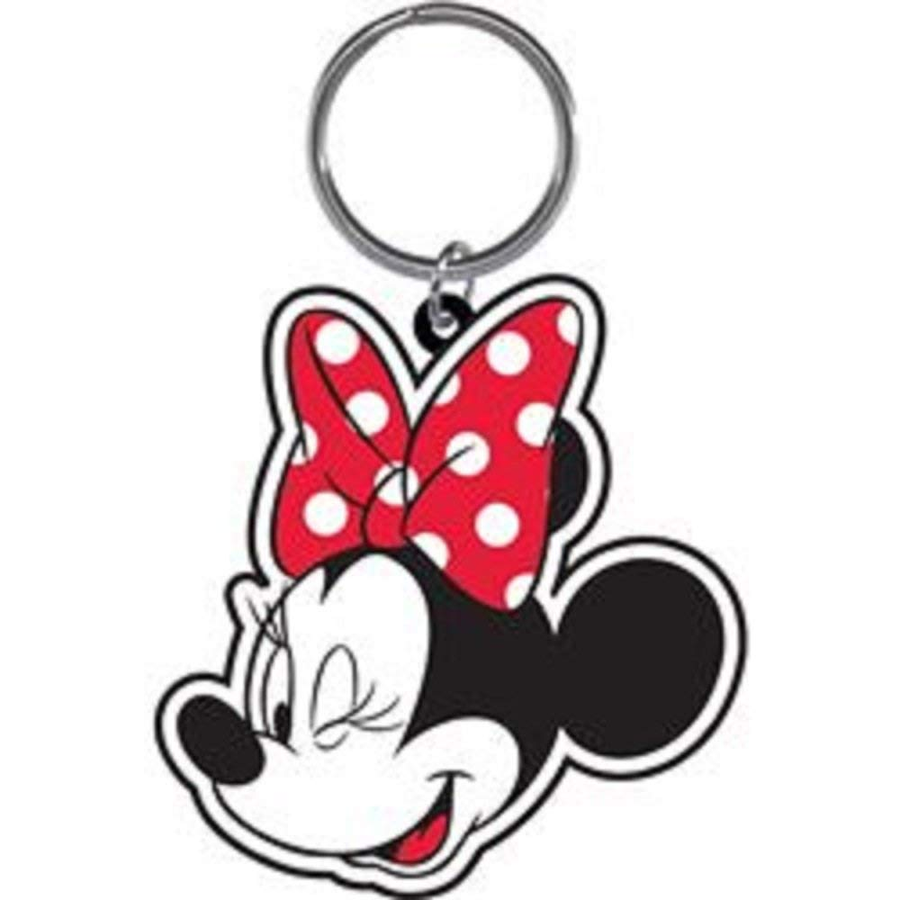 Minnie Mouse Bow Wink - Lasercut Keychain