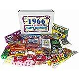 1966 50th Birthday Gift Basket Box Retro Nostalgic Candy Jr. From Childhood