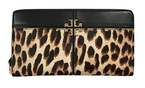Tory Burch Ivy Leopard Zip Continental Wallet, - Tory Leopard Burch