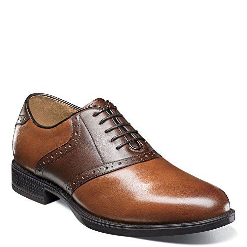 Florsheim Men's Midtown Saddle Oxford Cognac/Brown 10 D ()