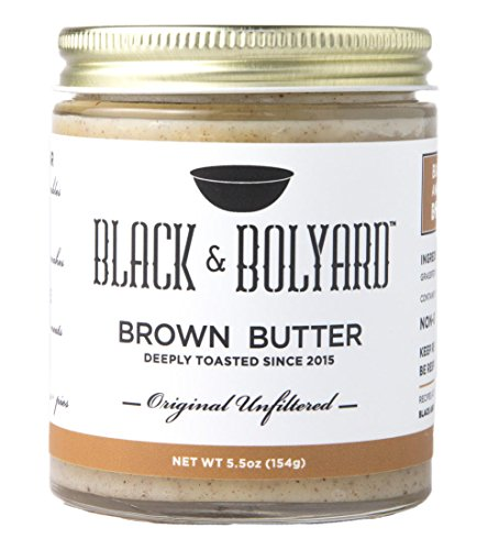 Eat Your Heart Out Origin (Black & Bolyard Original Unfiltered Brown Butter - Non-GMO, Sugar-free, Grass-fed Butter - Caramelized & Seasoned with Sea Salt - Gluten Free Ghee Butter/Clarified Butter Alternative - 5.5 Ounces)