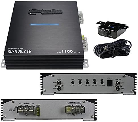 (-NEW-) American Bass XD11002 2 Channel 1100 Watts Car Amplifier