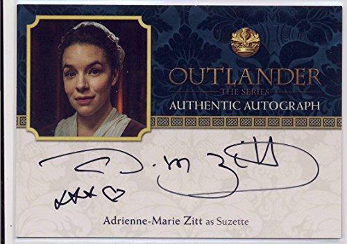2016 Outlander Season 2 Trading Cards Autograph Adrienne-Marie Zitt as Suzette