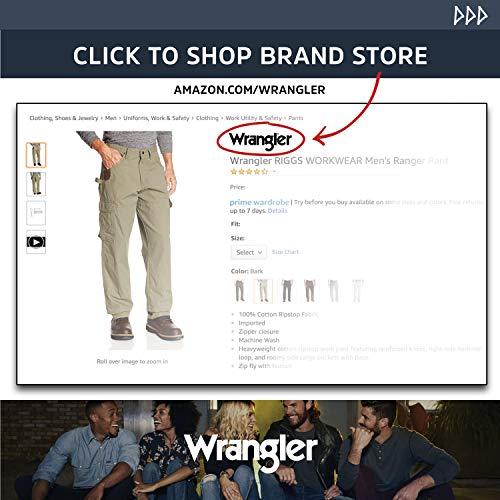 Wrangler Riggs Workwear Men's Ranger Cargo Short, rawhide, 54