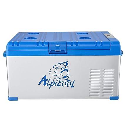 ZZKK Refrigerador de Coche Lxn compresor portátil Nevera congelador Coche y hogar están Disponibles 12V/